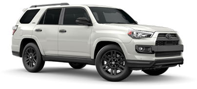 2020 Toyota 4Runner Nightshade Edition Model Cut-Out