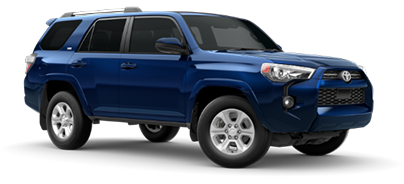2020 Toyota 4Runner SR5 Model Cut-Out