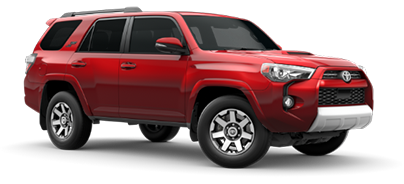 2020 Toyota 4Runner TRD Off-Road Premium Model Cut-Out