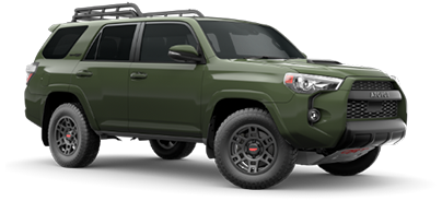 2020 Toyota 4Runner TRD Pro Model Cut-Out