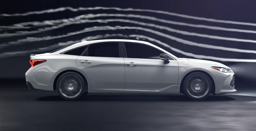 2020 Toyota Avalon - Vehicle In Wind Tunnel