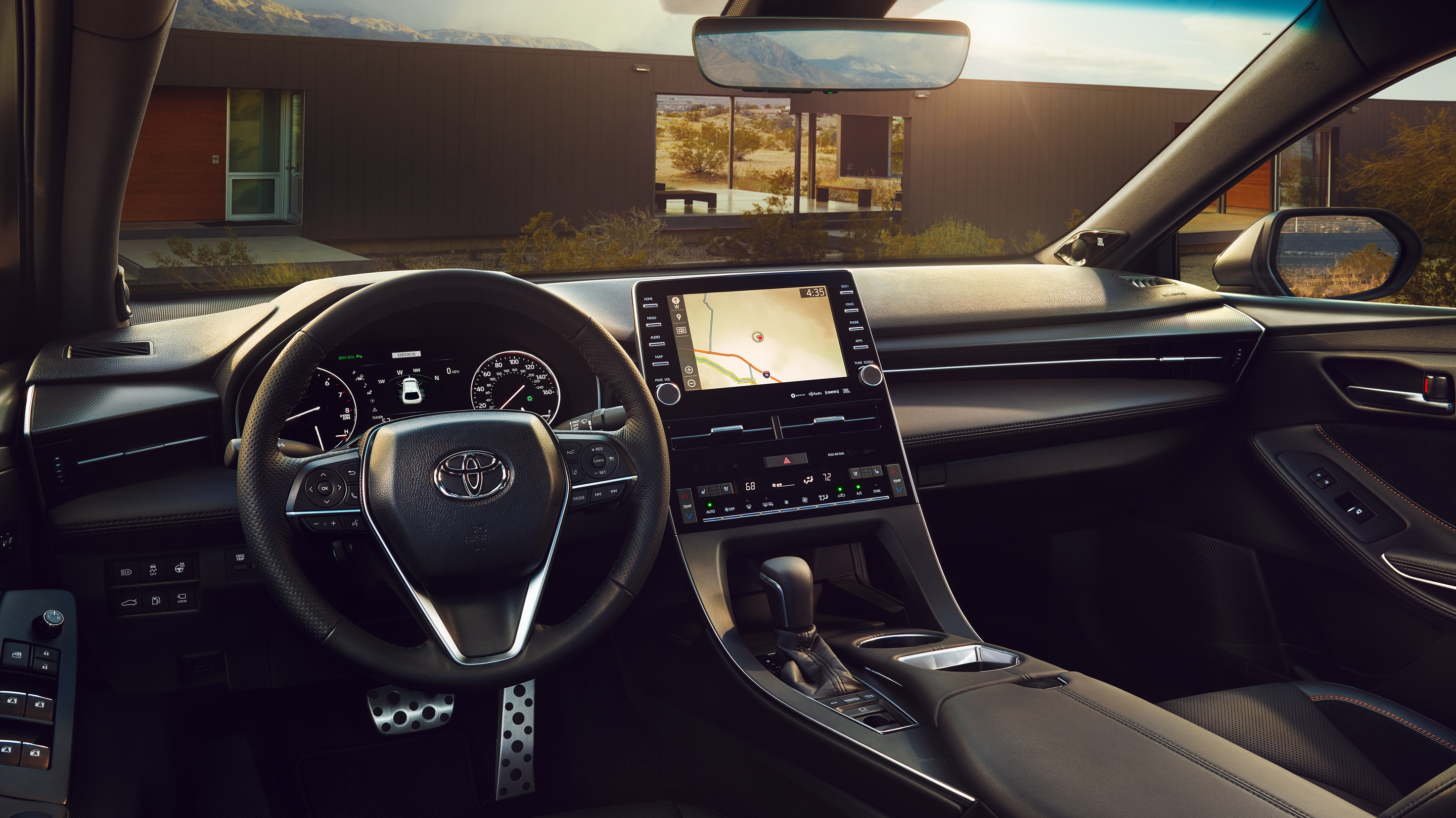 2020 Toyota Avalon - Interior View From Driver Seat