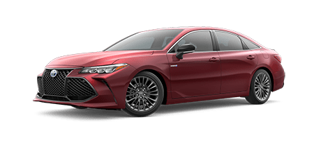 2020 Toyota Avalon - Hybrid XSE Model Cut-Out