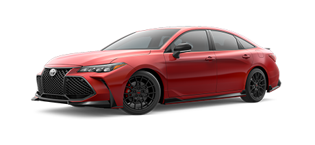 2020 Toyota Avalon - TRD Model Cut-Out