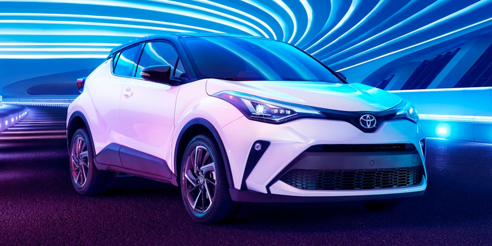 2020 Toyota C-HR - Refreshed exterior styling and color palette
