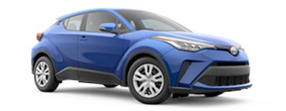 2020 Toyota C-HR - LE Model Cut-Out