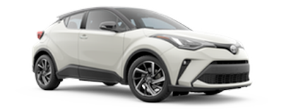 2020 Toyota C-HR - Limited Model Cut-Out