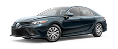 2020 Toyota Camry - Hybrid LE Model Cut-Out