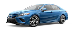 2020 Toyota Camry - Hybrid SE Model Cut-Out
