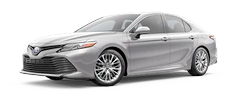 2020 Toyota Camry - Hybrid XLE Model Cut-Out