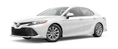 2020 Toyota Camry - LE Model Cut-Out