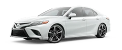 2020 Toyota Camry - XSE Model Cut-Out