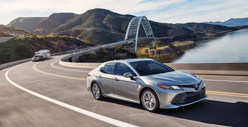 2020 Toyota Camry - Front Passenger 3/4 View