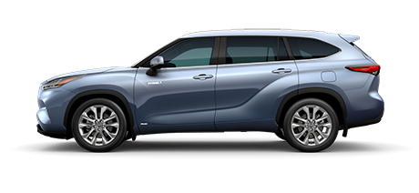 2020 Toyota Highlander Hybrid - Limited Model Cut-Out