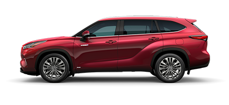 2020 Toyota Highlander Hybrid - Platinum Model Cut-Out