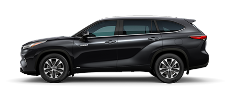 2020 Toyota Highlander Hybrid - XLE Model Cut-Out