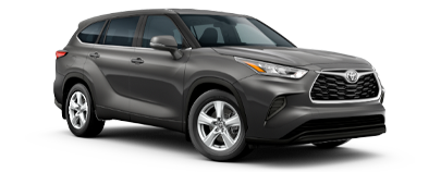 2020 Toyota Highlander - L Model Cut-Out