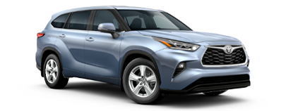 2020 Toyota Highlander LE Model Cut-Out