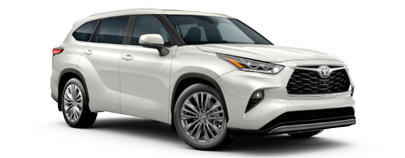 2020 Toyota Highlander - Platinum Model Cut-Out