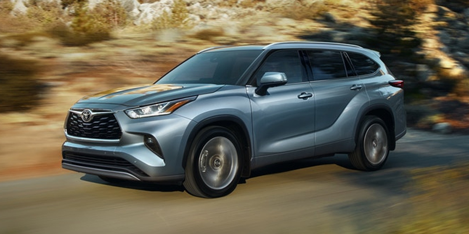 2020 Toyota Highlander - Captivating Exterior Design