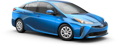 2020 Toyota Prius L Eco Model Cut-Out