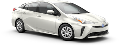 2020 Toyota Prius LE Model Cut-Out