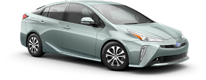 2020 Toyota Prius XLE AWD-e Model Cut-Out
