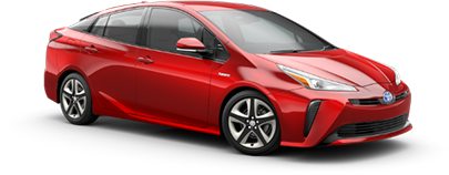 2020 Toyota Prius XLE Model Cut-Out