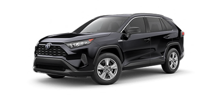 2020 Toyota Rav4 Hybrid LE Model Cut-Out