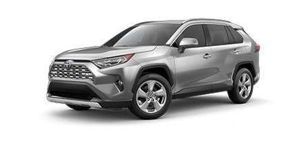 2020 Toyota Rav4 Hybrid Limited Cut-Out