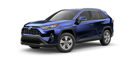 2020 Toyota Rav4 XLE Model Cut-Out