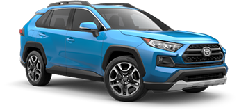 2020 Toyota Rav4 Adventure Model Cut-Out
