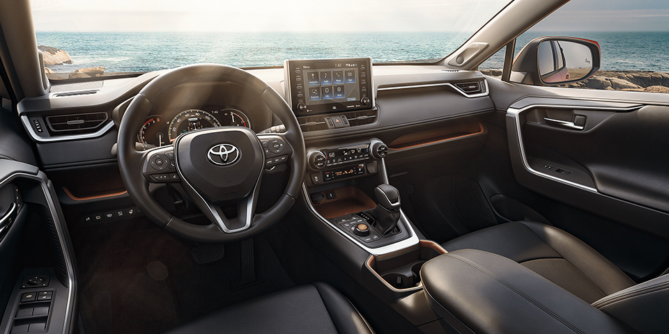 2020 Toyota Rav4 Interior View From Driver Seat