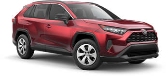 2020 Toyota Rav4 LE Model Cut-Out