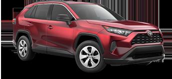 2020 Toyota Rav4 LE Model Cut-Out