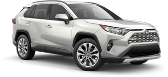2020 Toyota Rav4 Limited Model Cut-Out