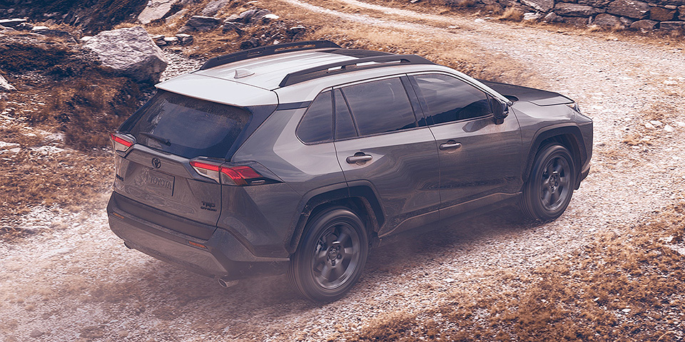 2020 Toyota Rav4 Driving On Mountain Road