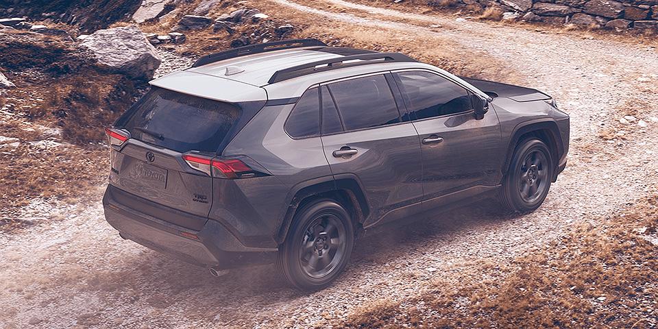 2020 Toyota Rav4 Driving On Mountain Road