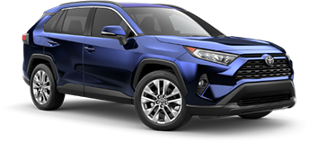 2020 Toyota Rav4 XLE Premium Model Cut-Out