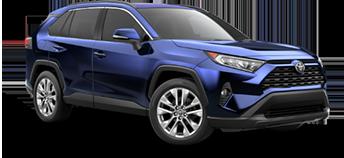 2020 Toyota Rav4 XLE Premium Model Cut-Out