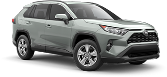2020 Toyota Rav4 XLE Model Cut-Out