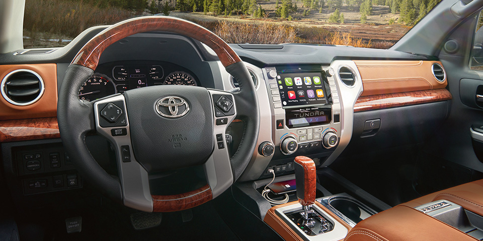 2020 Toyota Tundra - Interior Shot From Driver Seat