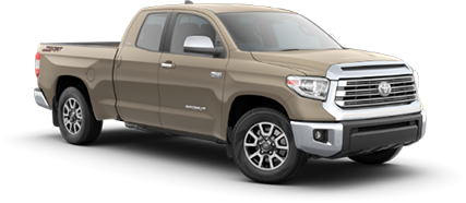 2020 Toyota Tundra - Limited Model Cut-Out