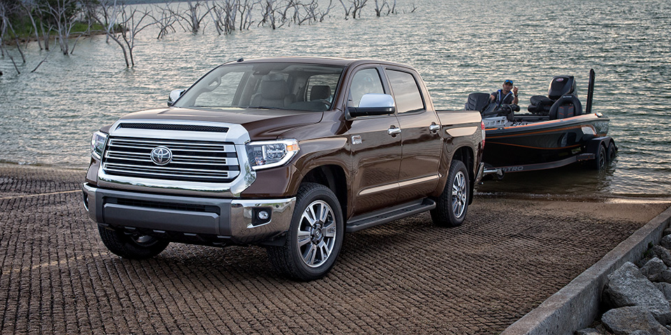 2020 Toyota Tundra - Vehicle Towing Boat