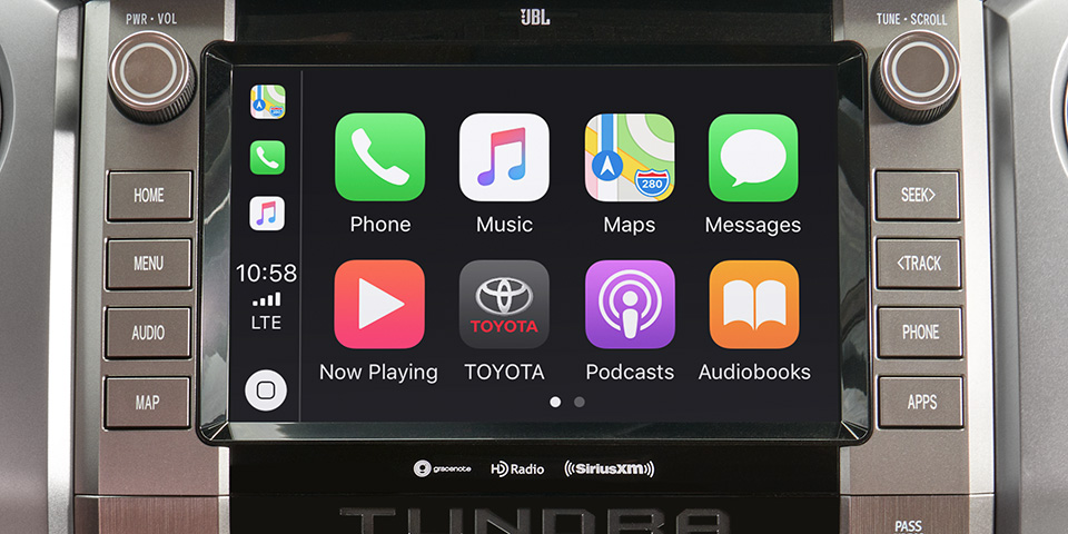 2020 Toyota Tundra - View Of Touch Screen Display