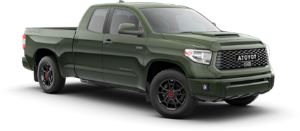 2020 Toyota Tundra - TRD Pro Model Cut-Out