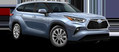 2021 Toyota Highlander Hybrid Limited Model Cut-Out