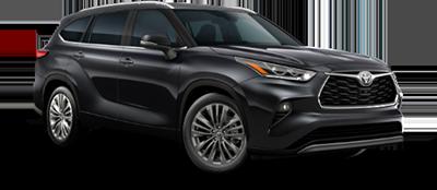 2021 Toyota Highlander Platinum Model Cut-Out