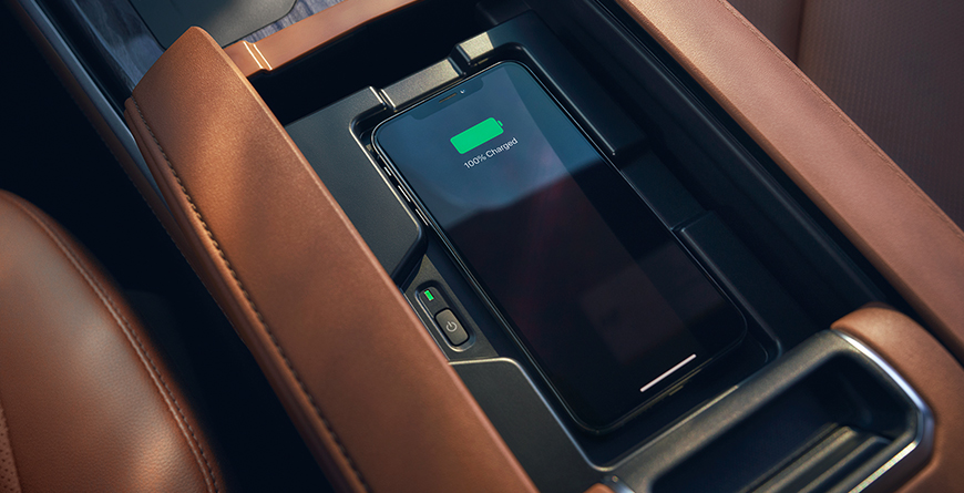 Phone charging in Highlander center console