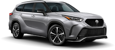 2021 Toyota Highlander XSE Model Cut-Out